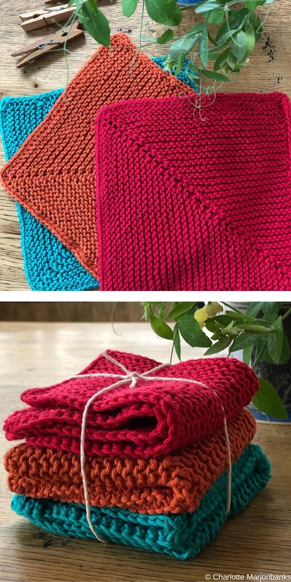 Delightful DishclothsFree Knitting Pattern