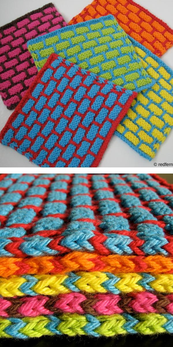 Ballband Dishcloth Free Knitting Pattern