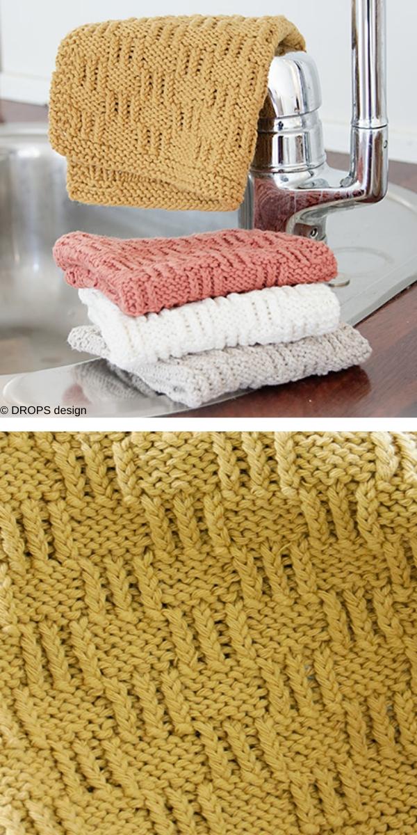 Spring Clean Free Knitting Pattern