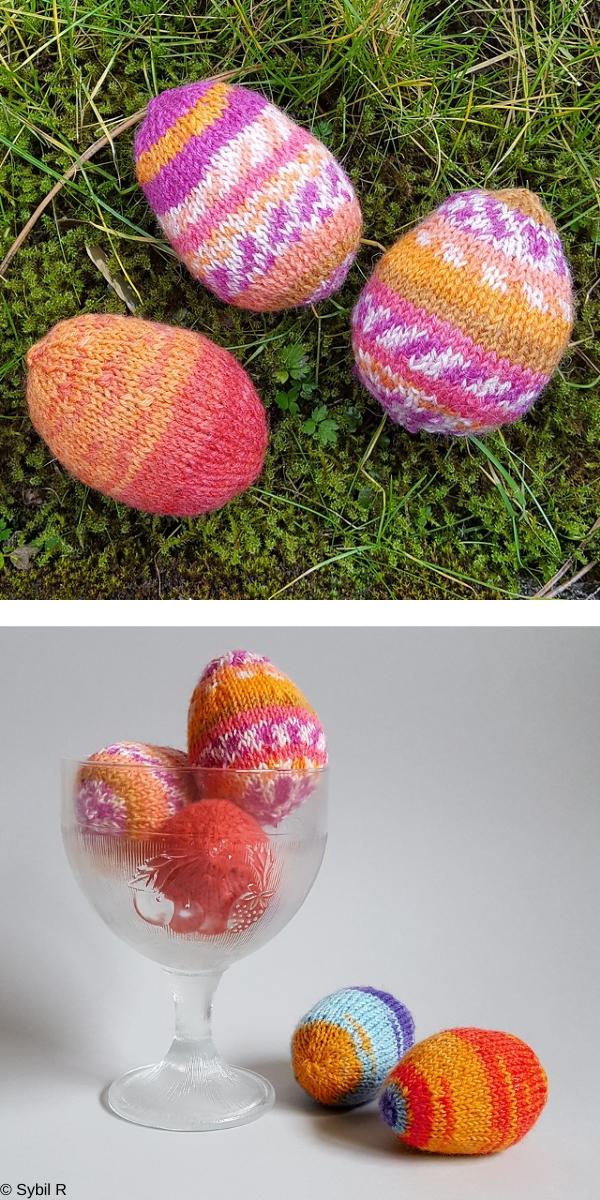 Easter Egg Free Knitting Pattern