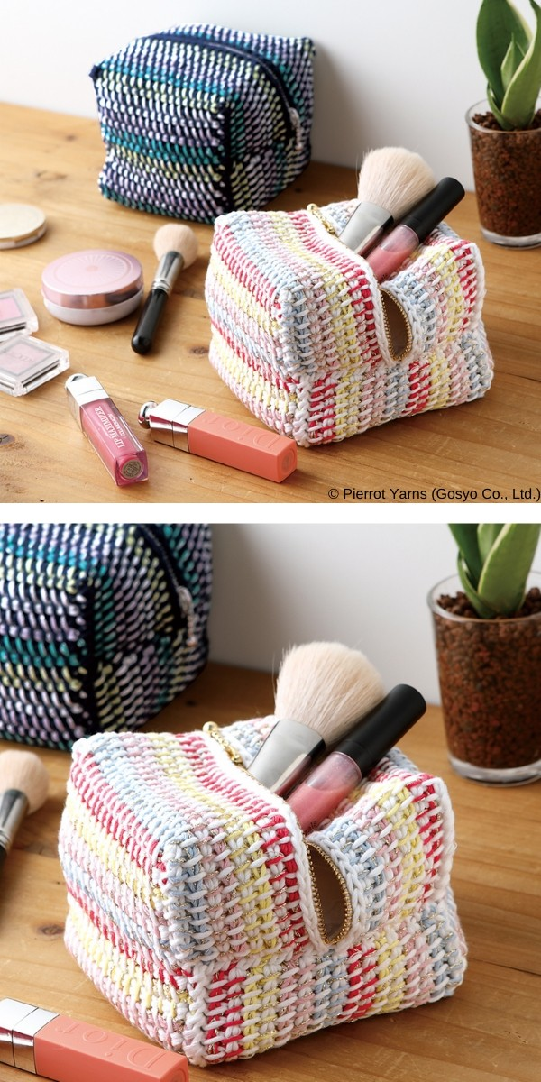 Square Pouch Free Crochet Pattern