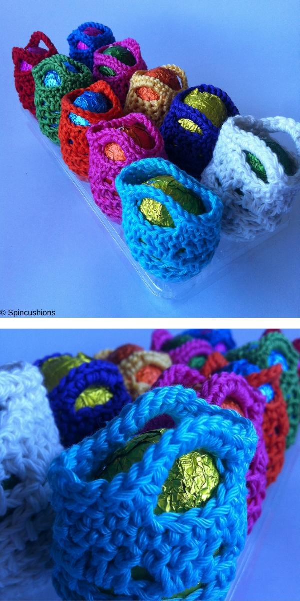 Mini-mini Crochet Egg Bag Free Crochet Pattern