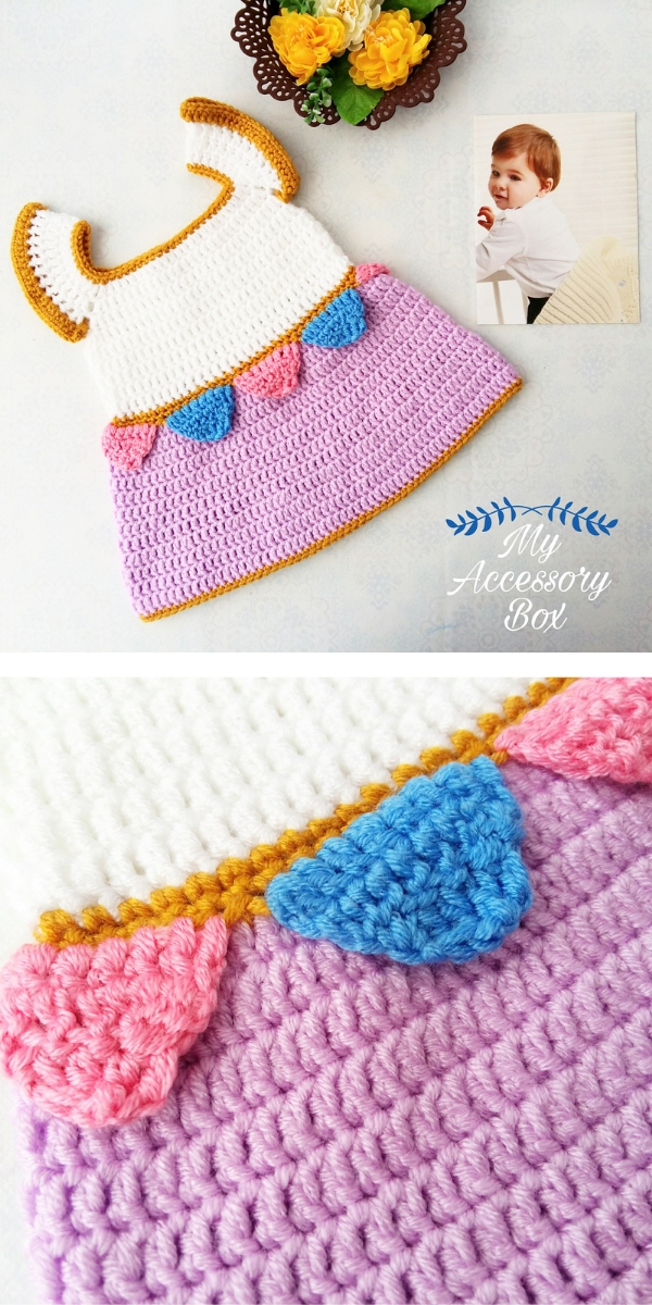 Chip the Teacup Baby Dress Free Crochet Pattern