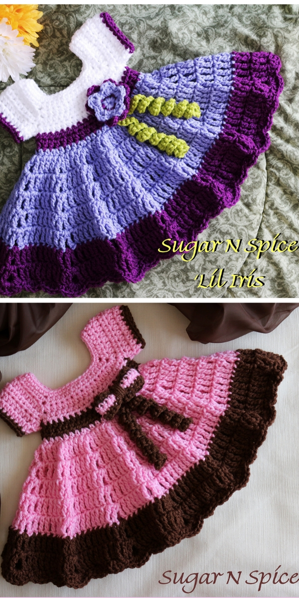 Sugar N Spice Dress Free Crochet Pattern