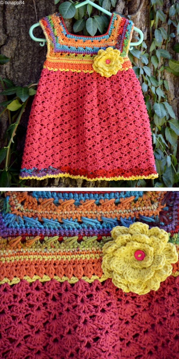 Little Miss Allison's Dress Free Crochet Pattern