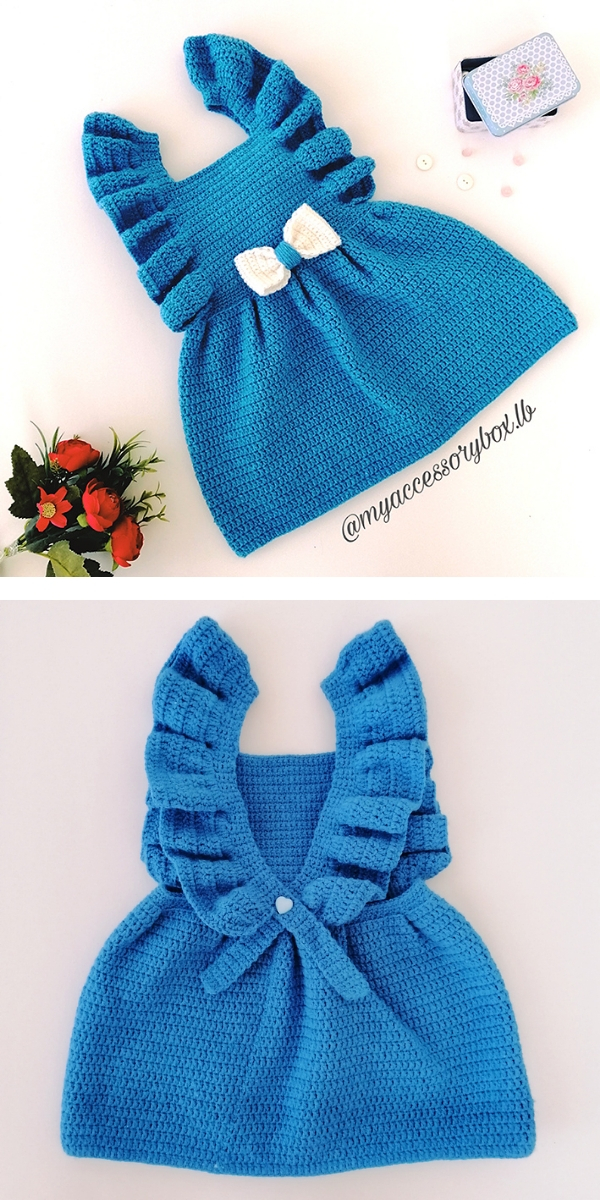 Enchanted Baby Dress Free Crochet Pattern