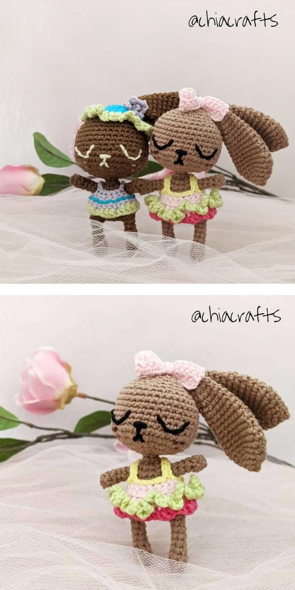Easter Bunny Amigurumi Free Crochet Pattern