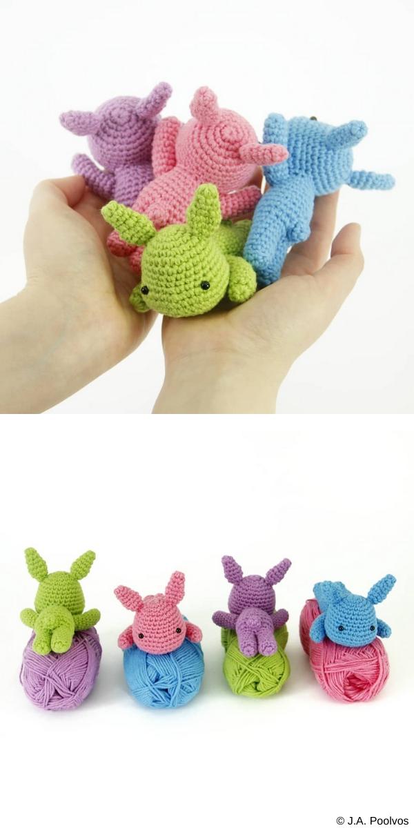 Lazy Bunny Free Crochet Pattern