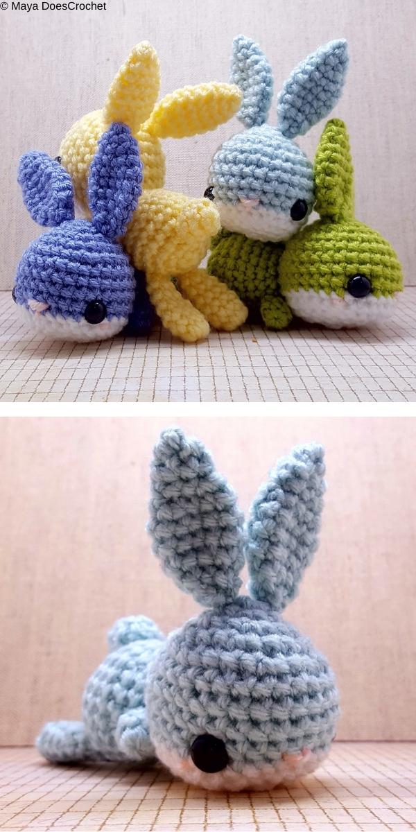 Babble The Bunny Free Crochet Pattern