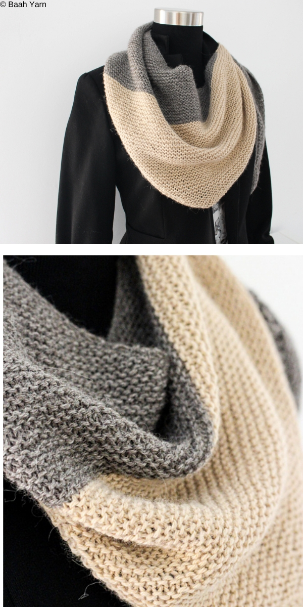Sand Dunes Free Knitting Pattern