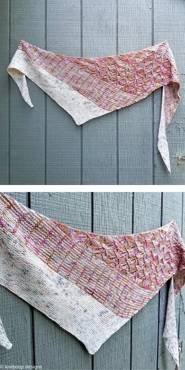 Bojagi Shawl Free Knitting Pattern