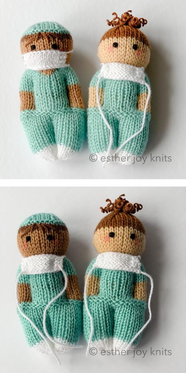 Nurse Mates Free Knitting Pattern