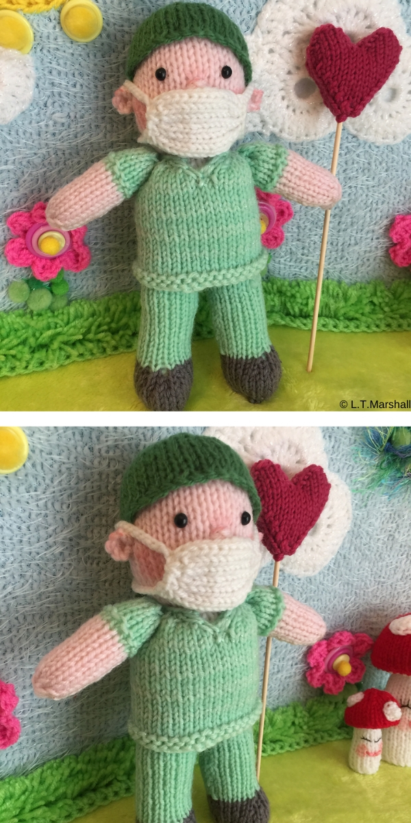 Doctor Dolly Free Knitting Pattern