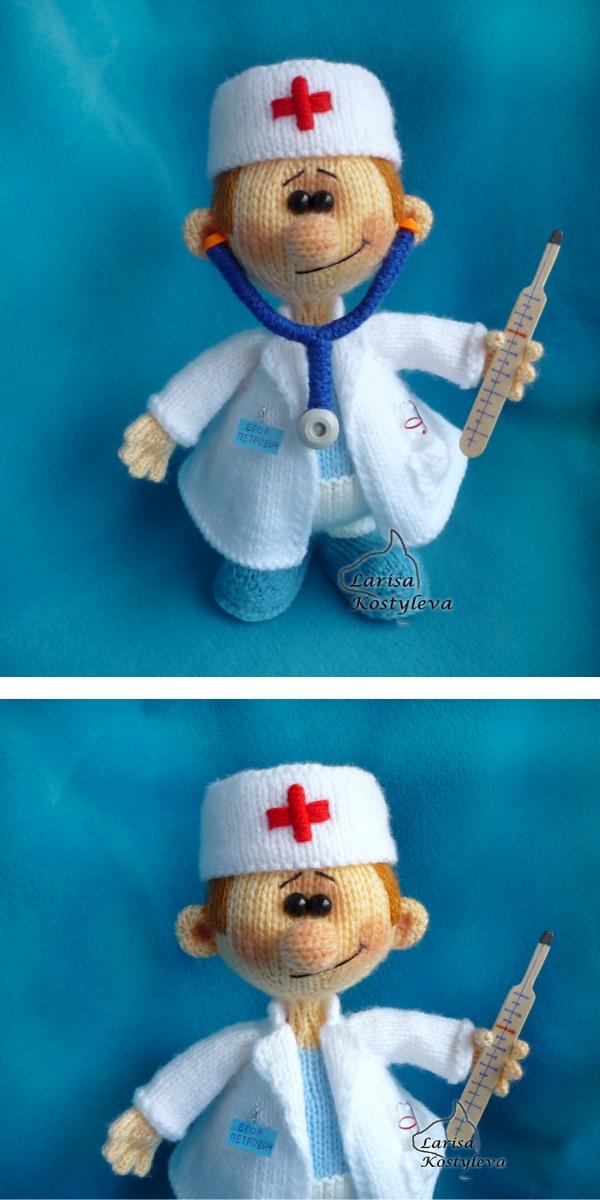 Doctor Knitting Pattern