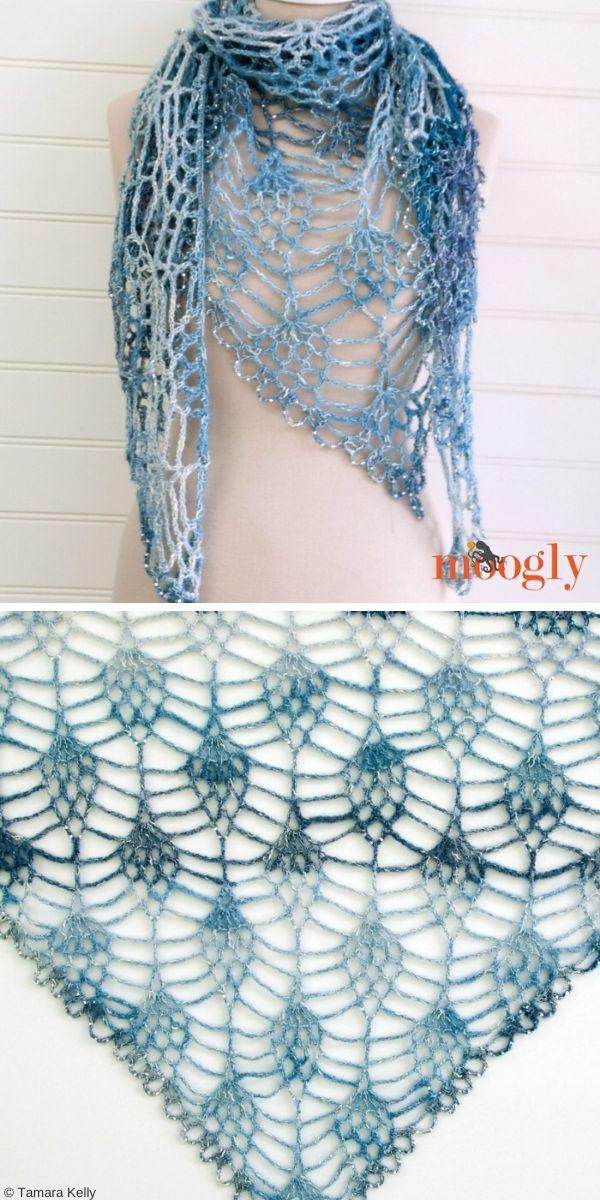 Amara Shawl Free Crochet Pattern