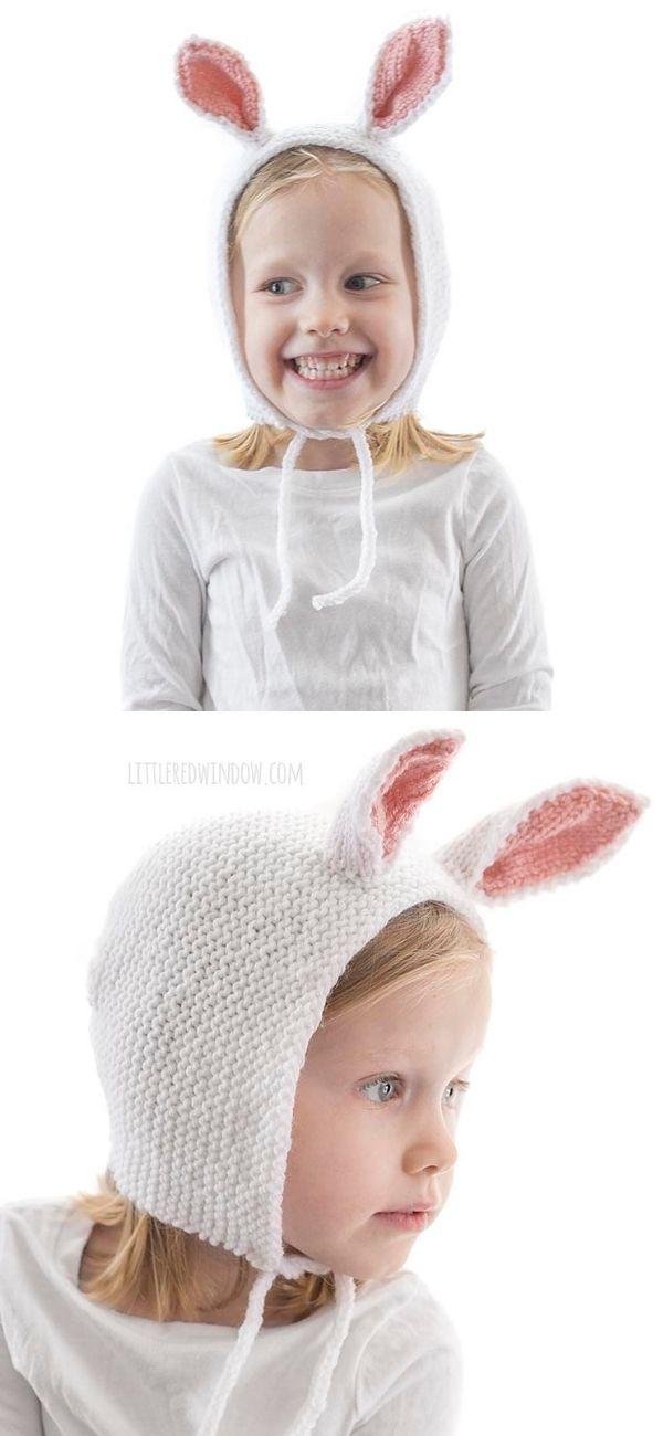 Baby Bunny Bonnet
