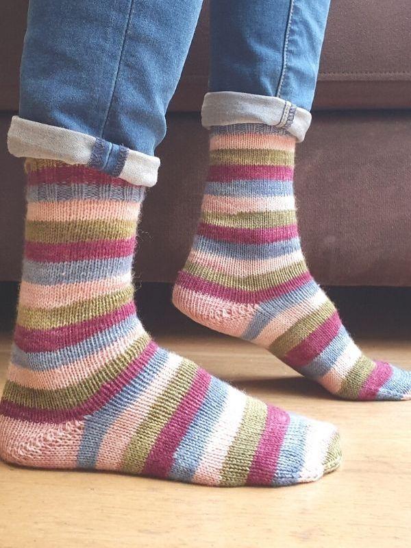 HalfBaked Vanilla Sock