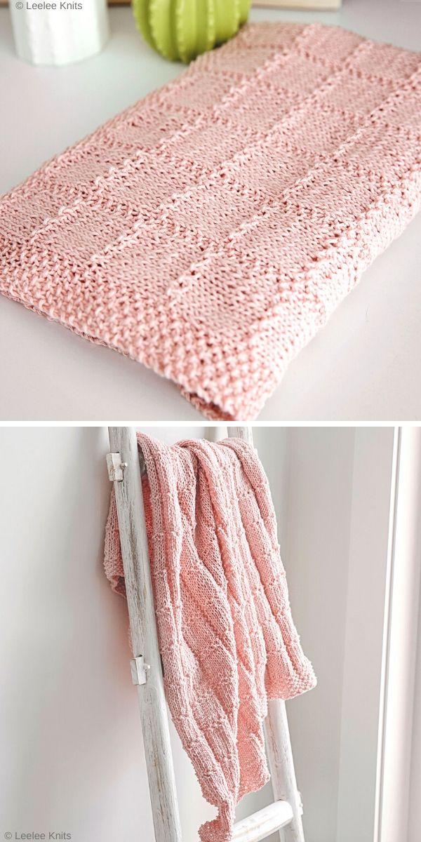 Hope Baby Blanket Free Knit Pattern