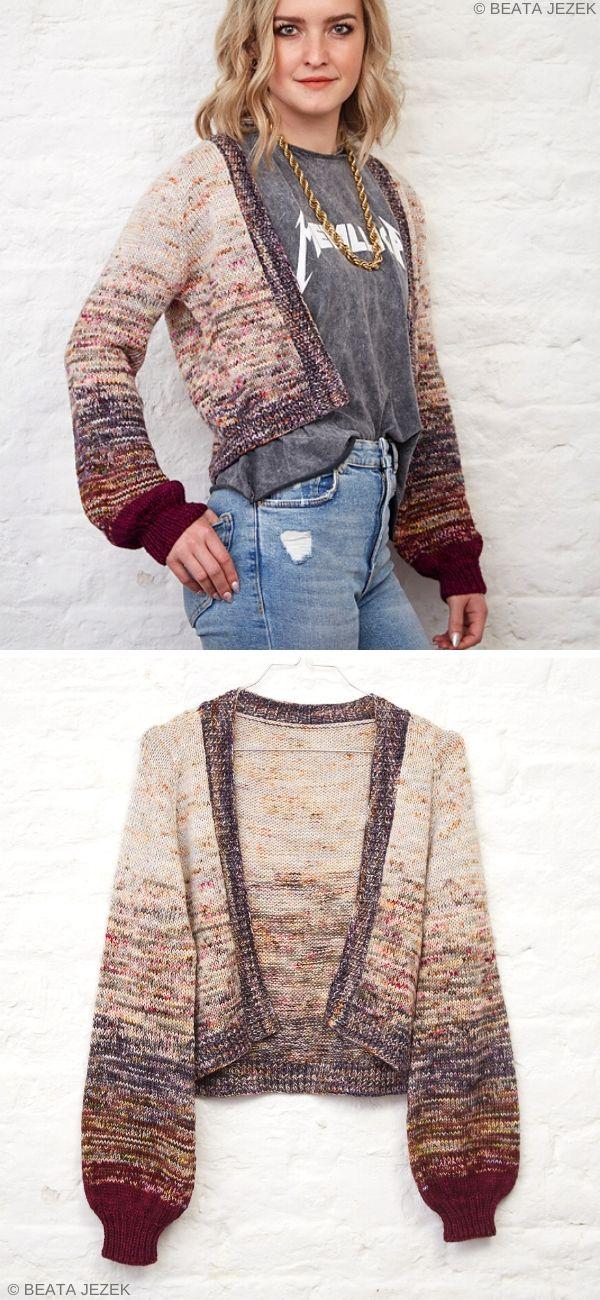 Le Pouf Free Knit Pattern