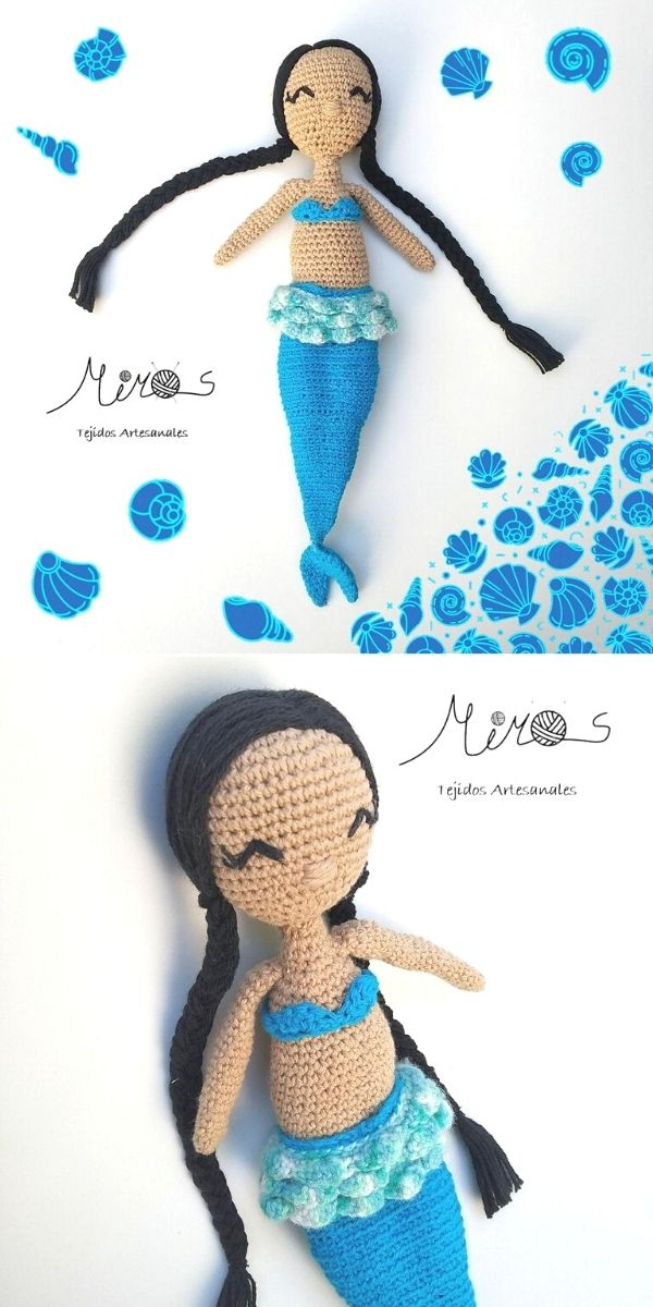 Mermaid doll transformation