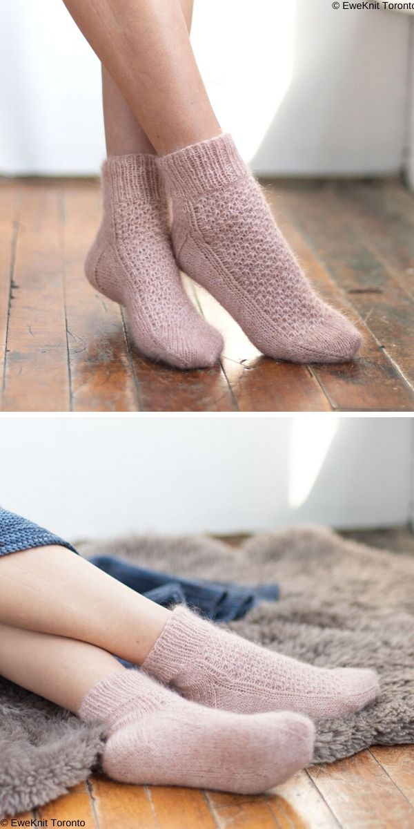 Momo Socks Free Knit Pattern