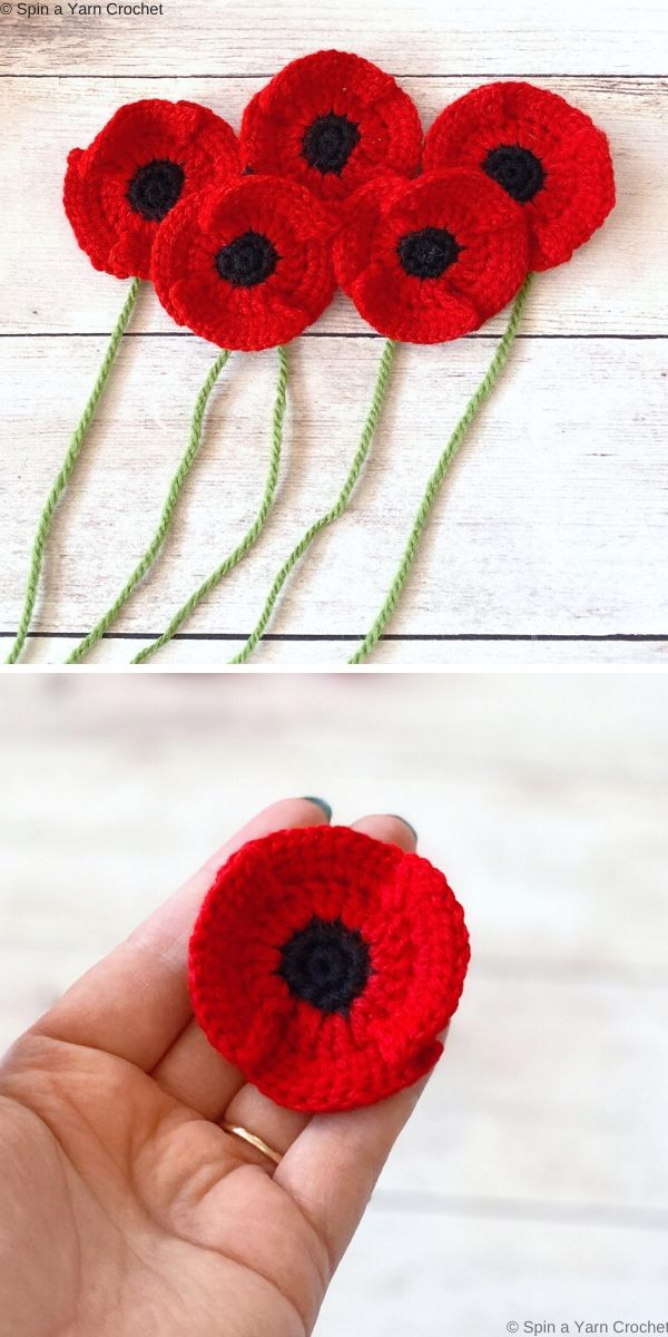 Poppy Free Crochet Pattern