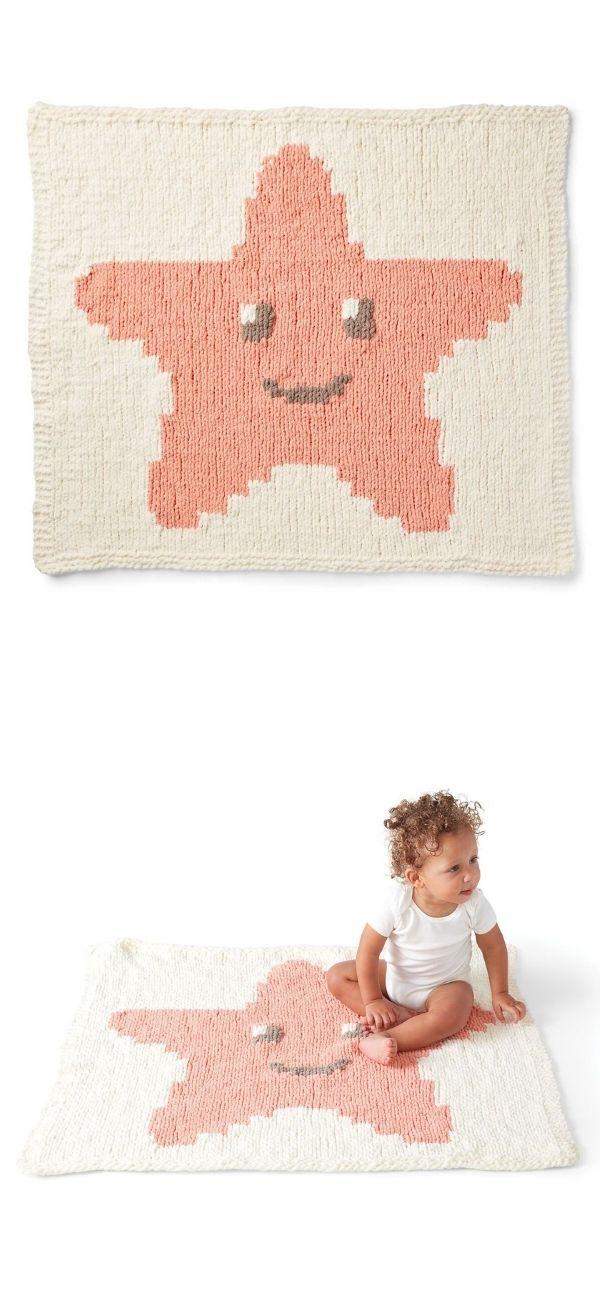 Smiling Starfish Blanket