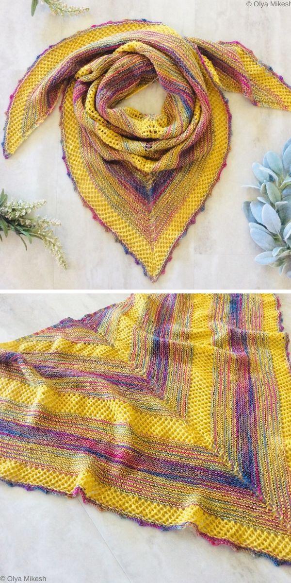 Something HappyShawl Free Crochet Pattern