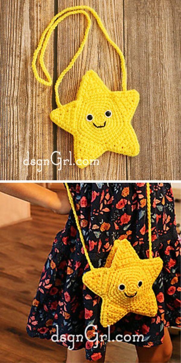 Star Purse Free Crochet Pattern