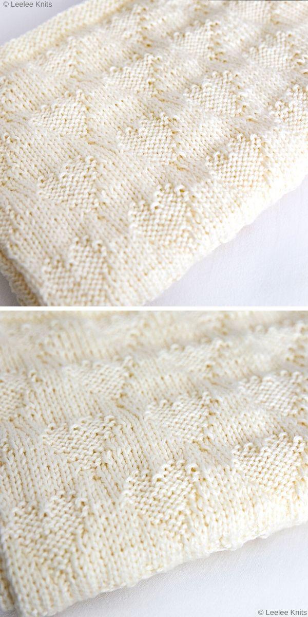 Sweetheart Baby BlanketFree Knit Pattern