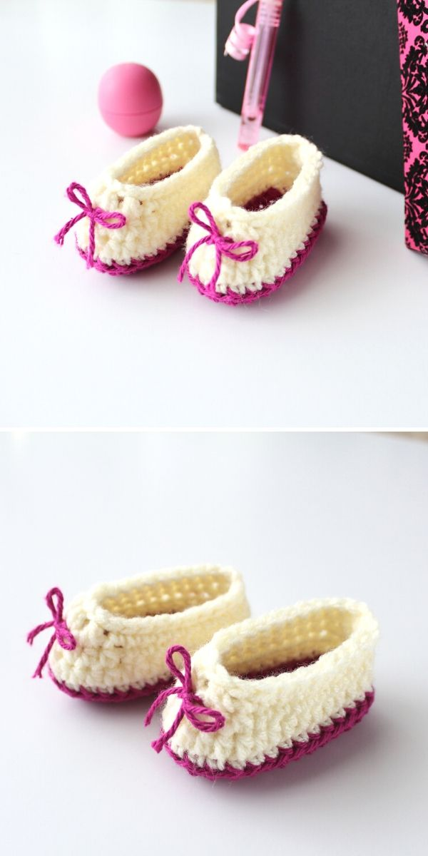 Sweetheart Baby Booties