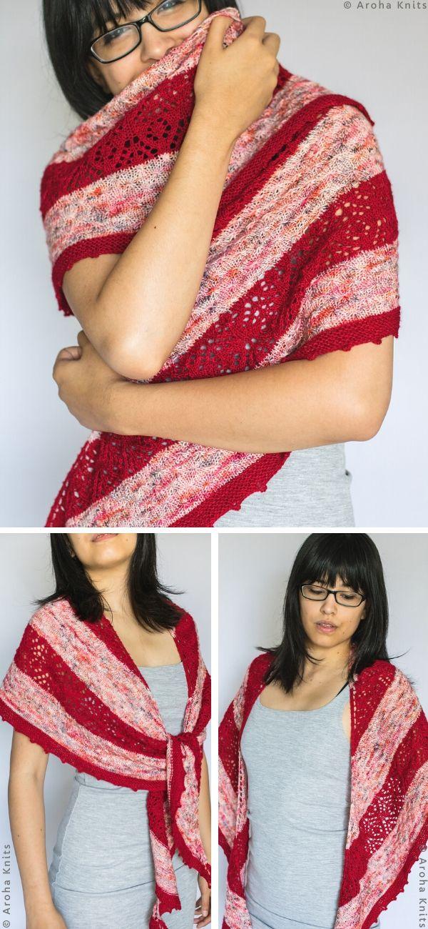 TokerauShawlFree Crochet Pattern