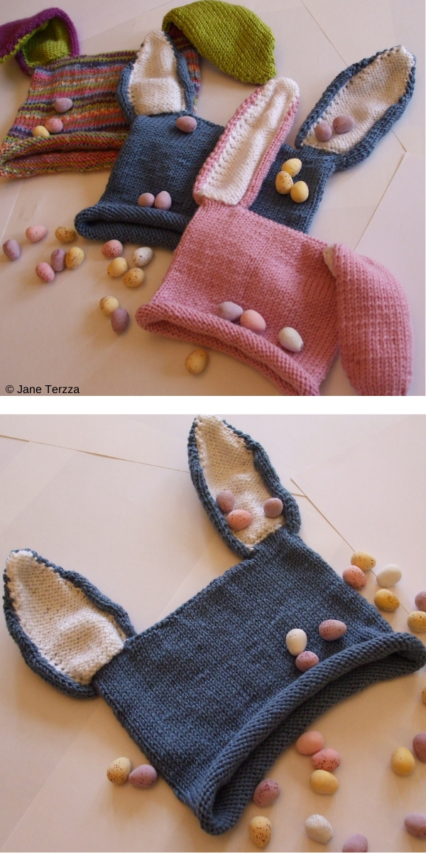 Roseanna's Rabbit Hat Free Knitting Pattern