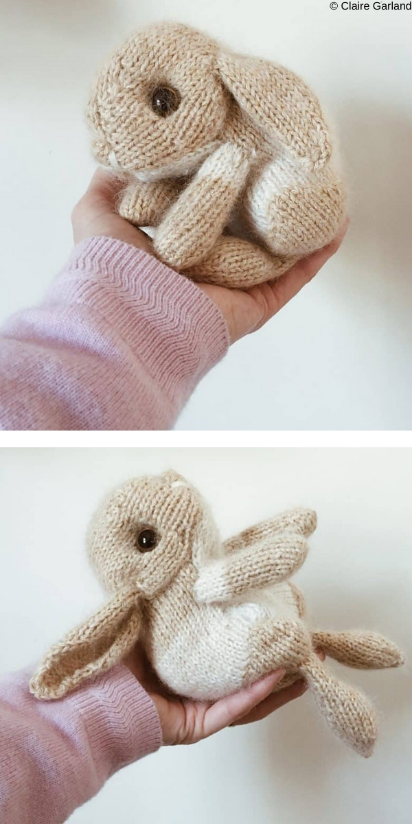 Easter Bunny Free Knitting Pattern