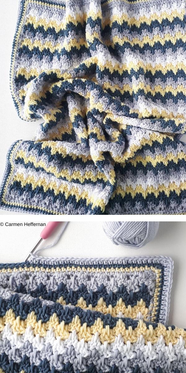 Poppy's Blanket Free Crochet Pattern