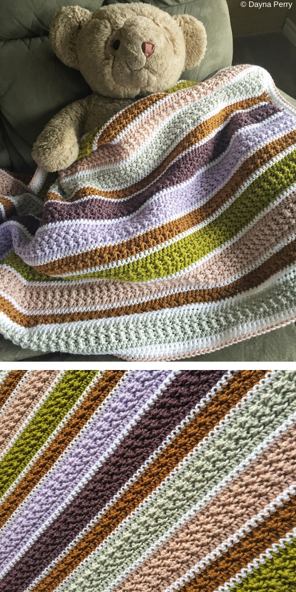 The Bellame Baby Blanket Free Crochet Pattern