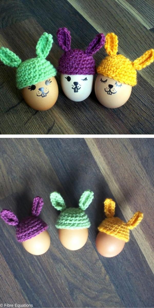 Bunny Egg Cozy Free Crochet Pattern