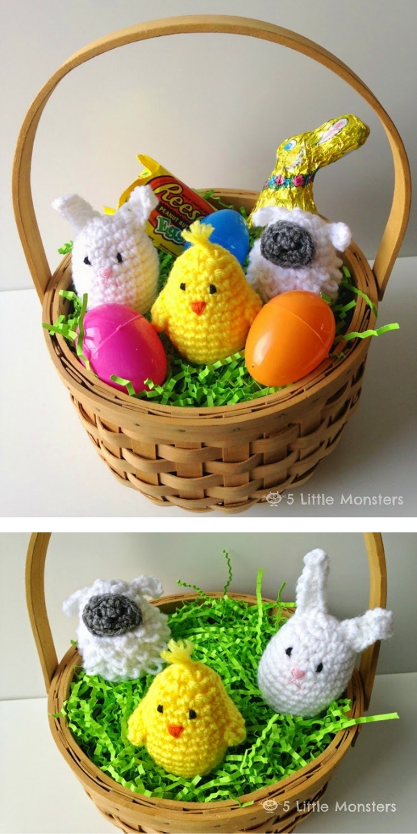 Easter Egg Covers Free Crochet Pattern