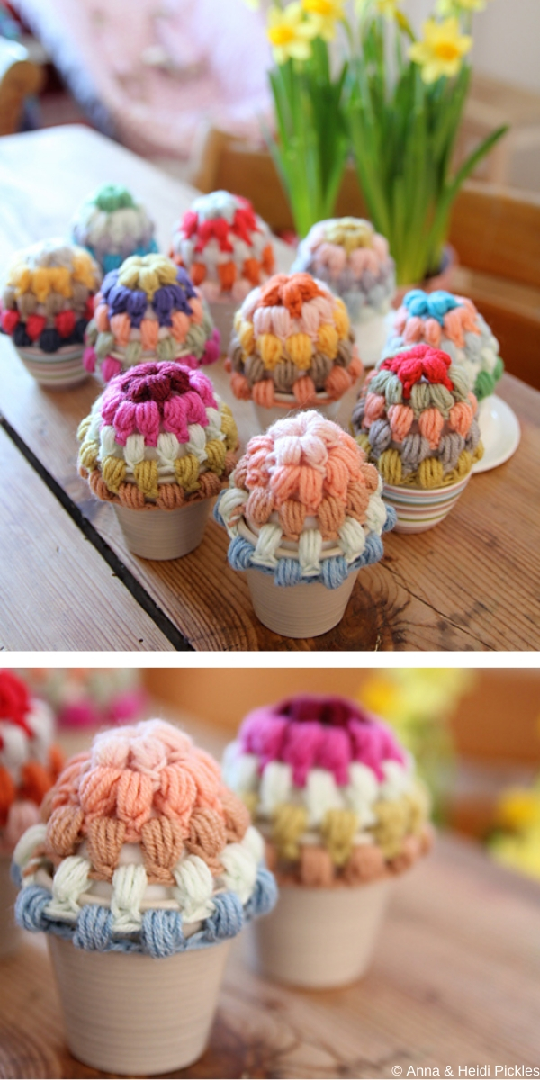 Easy Egg Warmers Crochet Pattern