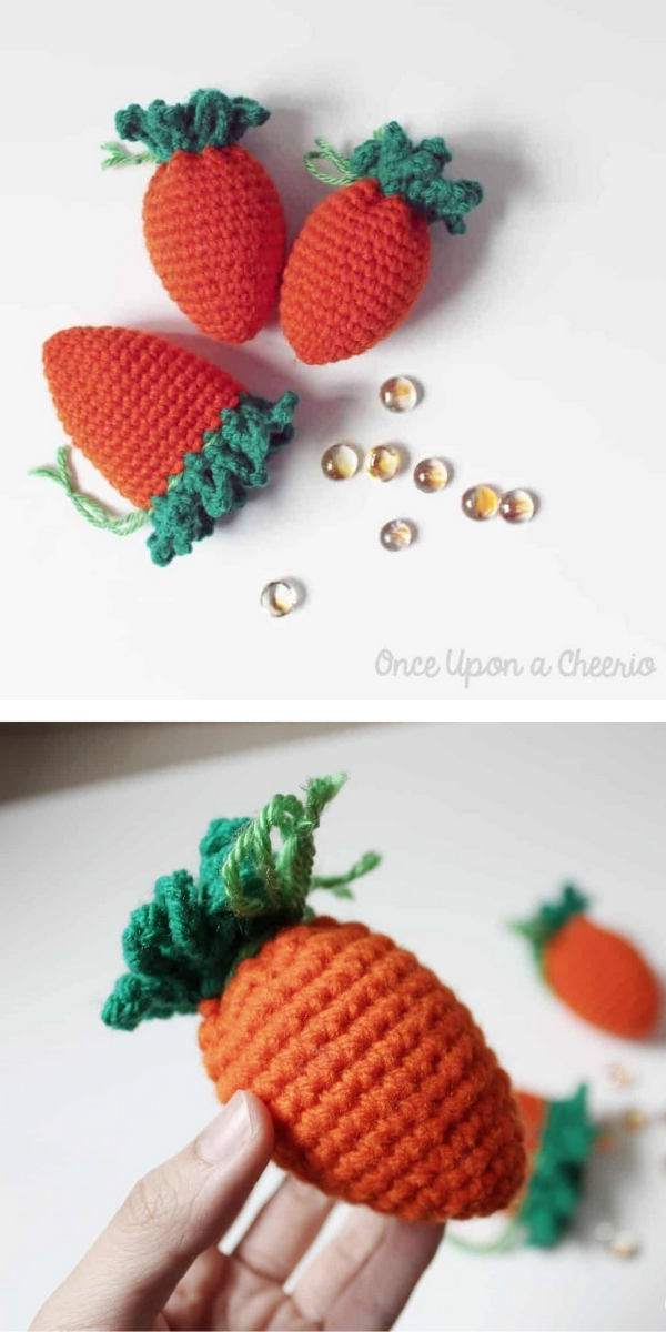 Carrot Egg Cozies Free Crochet Pattern