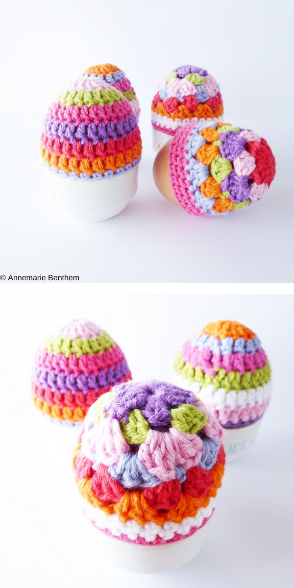 Egg Cozies Crochet Pattern