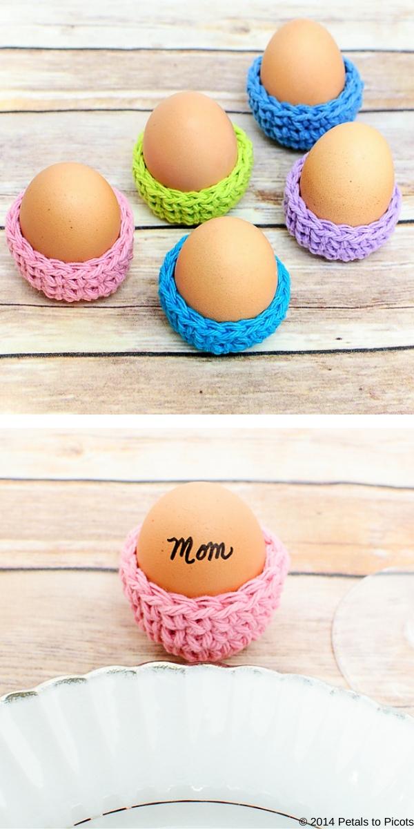 Easter Egg Cozy Free Crochet Pattern