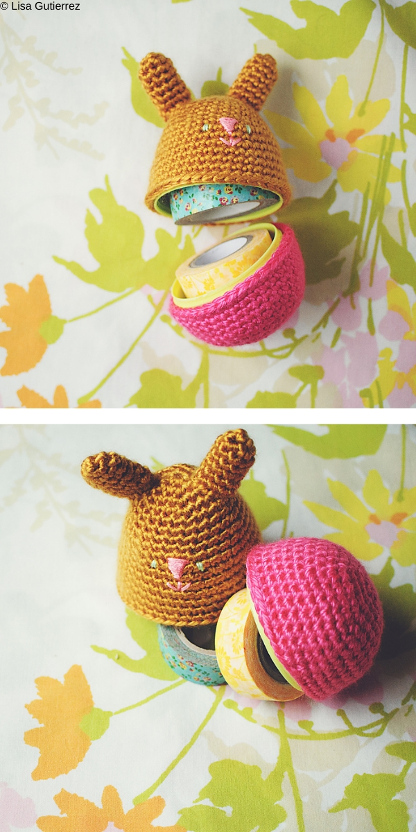 Amigurumi Bunny Egg Free Crochet Pattern