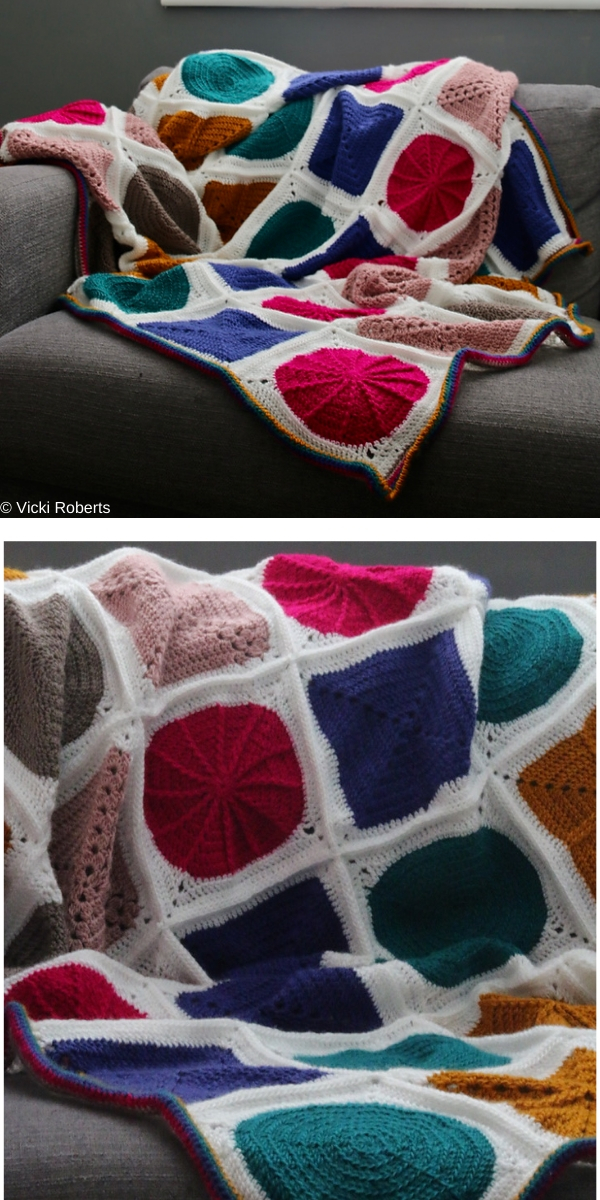 Geo-Boho CAL Free Crochet Pattern