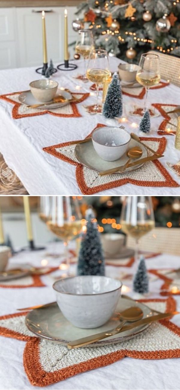 A Starry Christmas Table