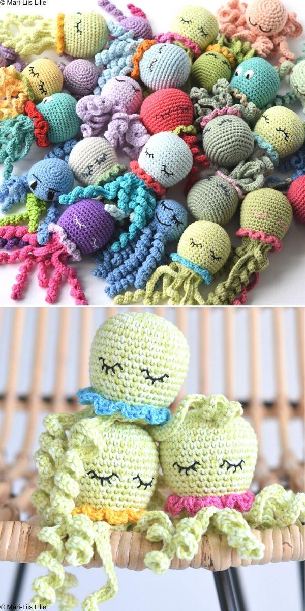 Amigurumi Octopus Free Crochet Pattern