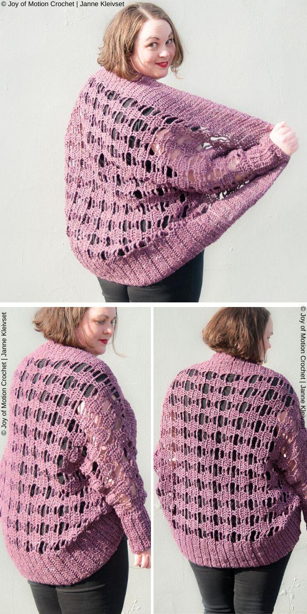 Aprilis Lace Shrug Free Crochet Pattern