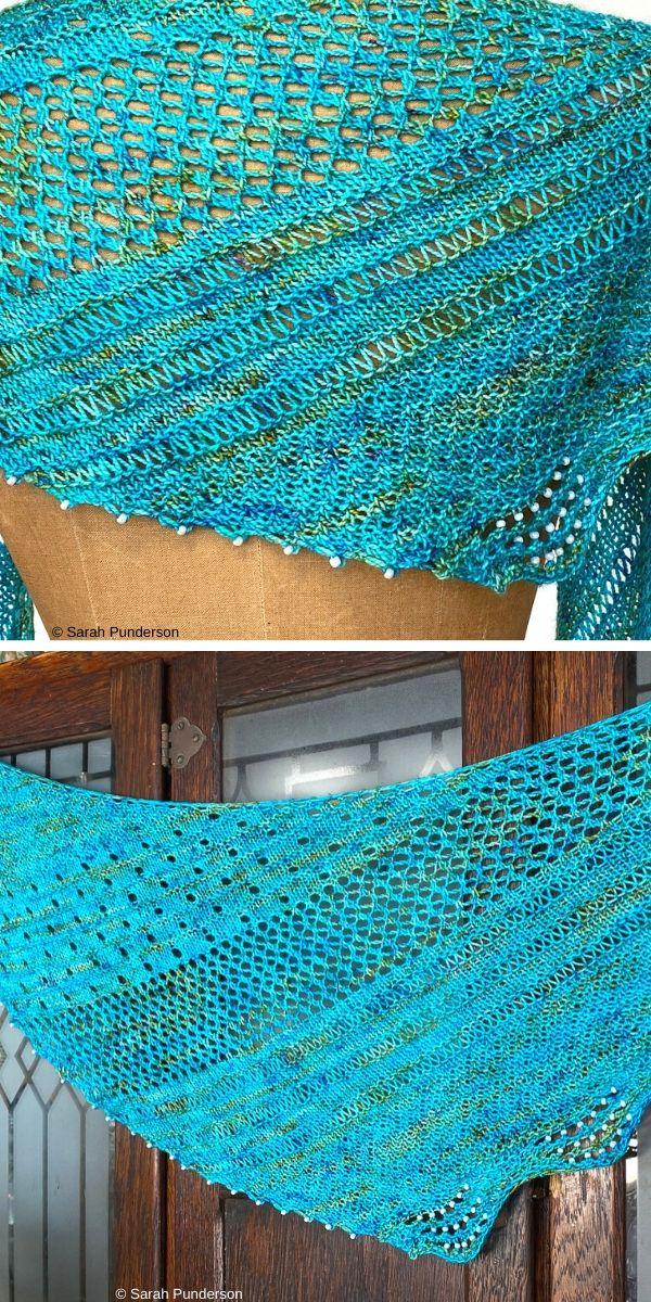 Asbury Park ShawlFree Knit Pattern