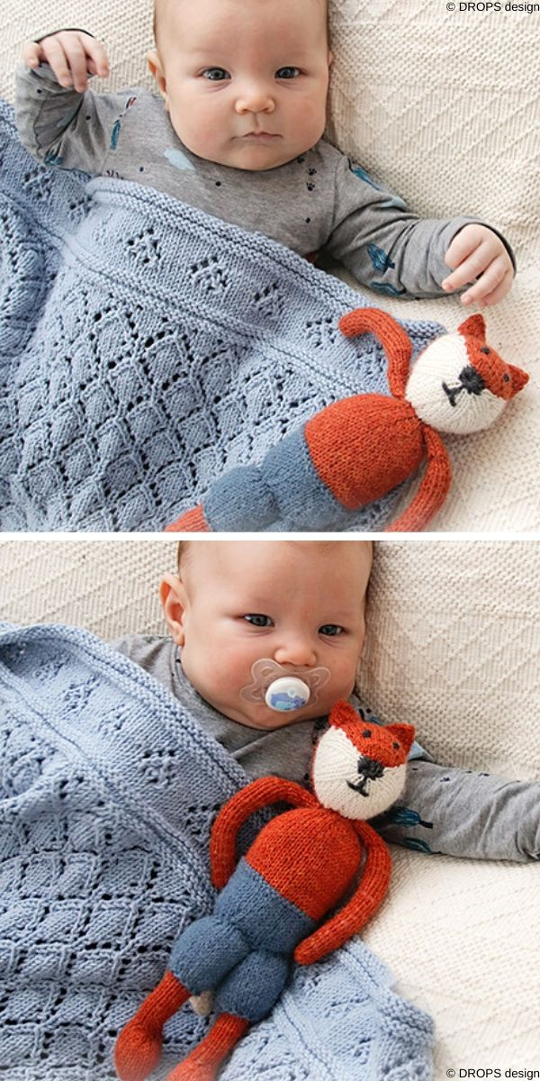Baby Diamonds Free Knit Pattern