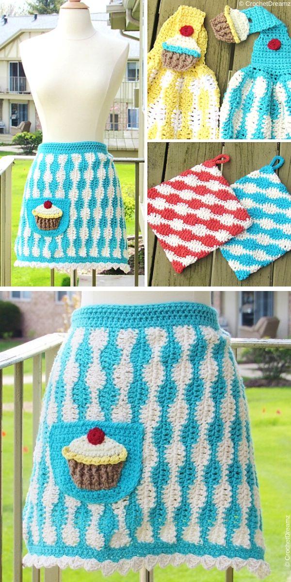 Baker's ApronFree Crochet Pattern
